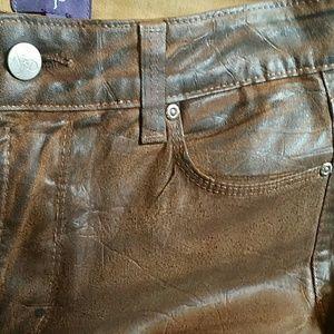 NYDJ Jeans - NYDJ Skinny Sheri Terra Tan Brown Jeans Size 6 EUC